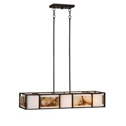 Uttermost 21224 Quarry 4Lt Oil Rubbed Bronze Chandelier