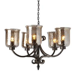 Uttermost 21257 Lustre 5 Light Chandelier