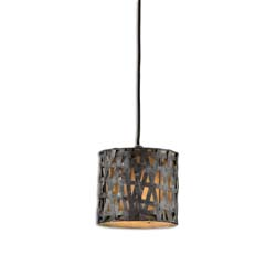 Uttermost 21835 Alita Metal Mini Drum Pendant