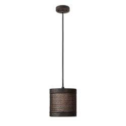 Uttermost 21890 New Orleans 1 Light Mini Drum Pendant