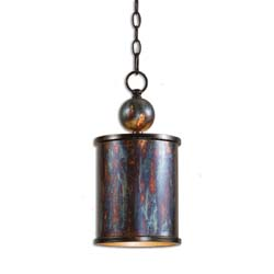 Uttermost 21920 Albiano 1 Light Bronze Mini Pendant