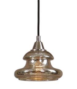 Uttermost 22006 Arborea Glass Mini Pendant