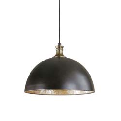 Uttermost 22028 Placuna 1 Light Bronze Pendant