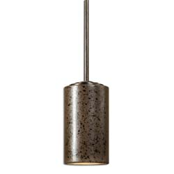 Uttermost 22043 Maschile 1 Light Bronze Charcoal Mini Pendant
