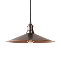 Uttermost Barnstead 1 Light Copper Pendant