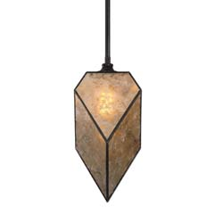 Uttermost Pelham 1 Light Antiqued Mica Pendant