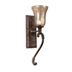 Uttermost 22418 Galeana Glass Wall Sconces