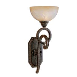 Uttermost 22430 Legato Glass Wall Sconce