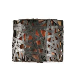 Uttermost 22463 Alita 1 Light Black Wall Sconce