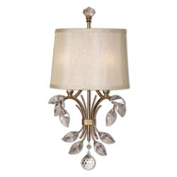 Uttermost 22487 Alenya 2 Light Gold Wall Sconce