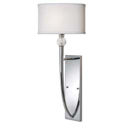 Uttermost 22493 Vanalen 1 Light Chrome Wall Sconce
