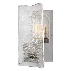 Uttermost Cheminee 1 Light Textured Glass Sconce