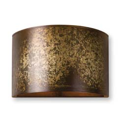 Uttermost Wolcott 1 Light Golden Sconce