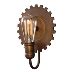 Uttermost Antrim 1 Light Bronze Sconce