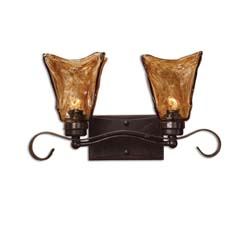Uttermost 22800 Vetraio 2 Light Bronze Vanity Strip