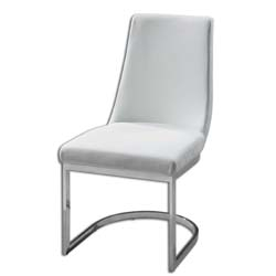Uttermost 23141 Xantina White Accent Chair