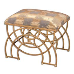 Uttermost 23206 Marcedes Gold Small Bench