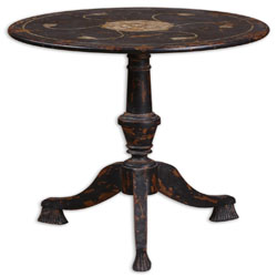 Uttermost 24162 Gorham Round Accent Table