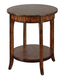Uttermost 24228 Carmel Round Lamp Table
