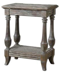 Uttermost 24295 Mardonio Distressed Side Table