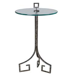 Uttermost 24367 Grecia Iron Accent Table