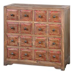 Uttermost Rylee Weathered Drawer Chest