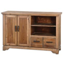 Uttermost 24484 Sadler Natural Finish TV Console