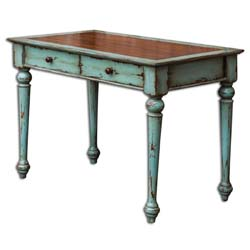 Uttermost 25635 Axelle Mahogany Writing Desk