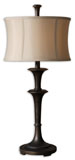 Uttermost 26269-1 Brazoria Oil Rubbed Bronze Table Lamp