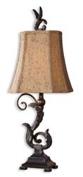 Uttermost 29271-2 Caperana Black Buffet Lamps Set/2