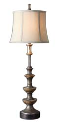 Uttermost 29290 Vetralla Buffet Lamp