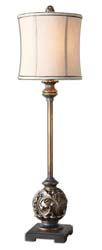 Uttermost 29291-1 Shahla Bronze Buffet Lamp