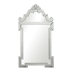 Ludlow-Contemporary Venetian Mirror