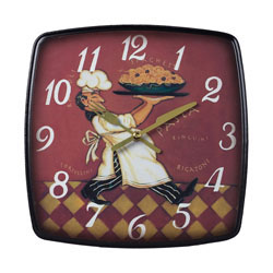 Busy Chef Clock