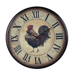 Rooster Clock - Small