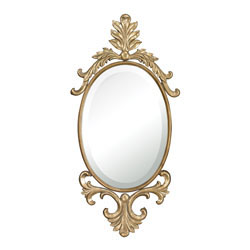 Hillgrove Gifford Antique Gold Mirror By