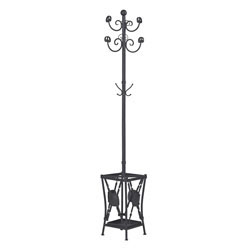 Innistone Coat Rack With Umbrella Stand By