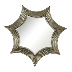 Kaleidoscope Gold Leafed Mirror By