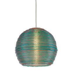 "Telford-13"" Multi - Colored Spun Acrylic Pendant"