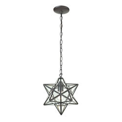 Star-1Light Glass Pendant Lamp