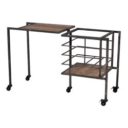 Industrial Fold Away Storage Bench