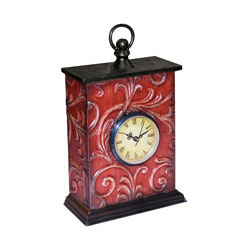 Embossed Vine Clock (1- Aa Battery Not Included)