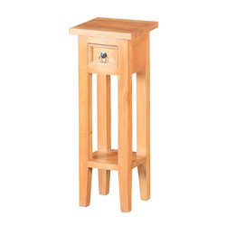 Shutter End Table Natural