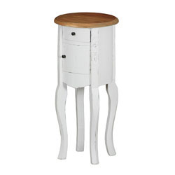 Stanis End Table-White