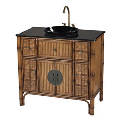 Sheerwater Bamboo Vanity Unit By