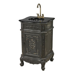 Raintree Antique Grey Vanity Unit By