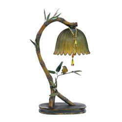 Perching Finch Lamp