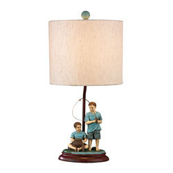 Brothers Fishing Accent Lamp