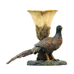 Autumn Pheasant Planter