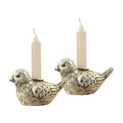 Mini Bird Candle Holders